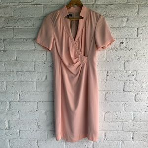 Lafayette 148 | Ruched Silk Mid Length Dress